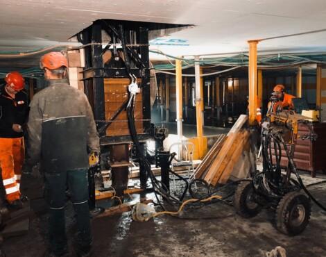 Indoor Pfahlprüfung Zürich – Mythenquai